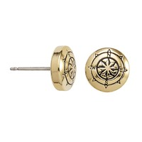 Compass Sacred Studs Post Earrings