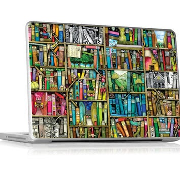 "Colin Thompson - Bookshelf - 13"" Apple Unibody Laptops (Pro, Air, MacBook) 
