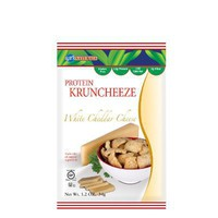 Kay`s Naturals Non-Gluten Kruncheeze, White Cheddar Cheese, 1.2-Ounce Bags (Pack of 12)