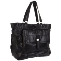 Juicy Couture Blue Print YHRU2822 Tote,Black,One Size