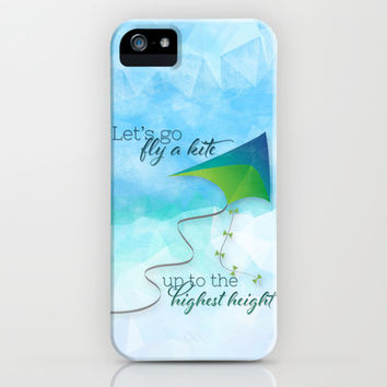 Let's Go Fly a Kite! iPhone & iPod Case by Noonday Design | Society6