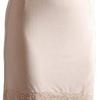 Mary Green Silk Knit 21 Inch Half Slip With Lace (LL7)