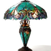 """Chloe Lighting Liaison 24.5"""" H Table Lamp with Bowl Shade"""