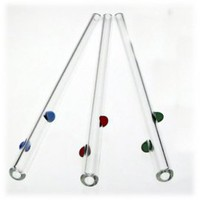 GlassDharma Decorative Dots Glass Straw | MightyNest.com