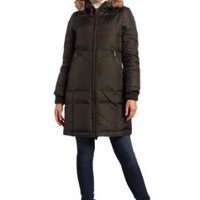 Tommy Hilfiger Women`s Cozy Hooded Down Jacket