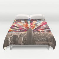 Superstar New York Duvet Cover by Bianca Green | Society6