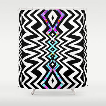 Mix #429 Shower Curtain by Ornaart