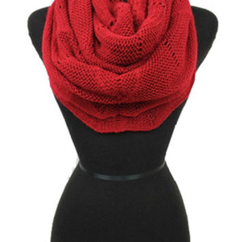 Soft Knit Infinity Scarf --6 Colors