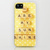 You Are My Sunshine iPhone & iPod Case by Happeemonkee | Society6