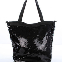 Sequin Shopper Bag