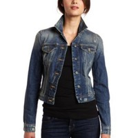 French Connection Womens Radley Denim Long Sleeve Jacket
