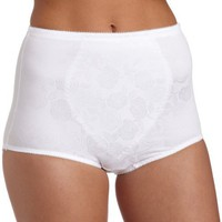 Bali Women`s Moderate Control Tummy Panel Brief 2 Pk - X710