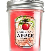 Mason Jar Candle Farmstand Apple