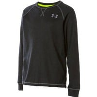Boy's Catalyst Waffle Crew by Under Armour in Black