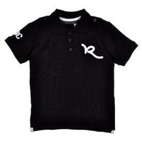Rocawear `Flat Roc` Pique Polo Shirt (Sizes 4 - 7X)
