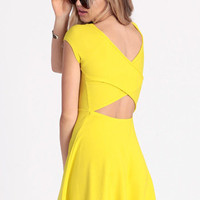 Mellow Mood Criss Cross Dress - $38.00 : ThreadSence.com, Your Spot For Indie Clothing  Indie Urban Culture