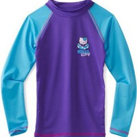 Hello Kitty Girls 7-16 Long Sleeve Rashguard Shirt