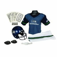 NFL Seattle Seahawks Deluxe Youth Uniform Set