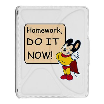 Mighty Mouse Homework Do It Now iPad 2 Cover
