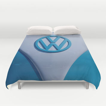 VW Splitty Duvet Cover by Alice Gosling | Society6