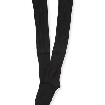 Aeropostale Womens Solid Over-the-Knee Socks -