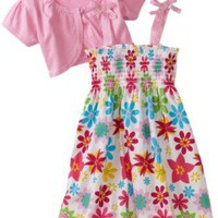 So La Vita Toddler Girls Toddler Multi Color Print Jacket Dress