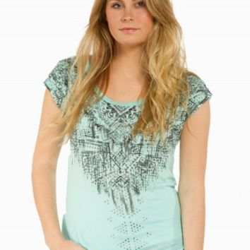 SPOILED AZTEC LACE GRAPHIC TEE