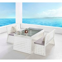 Sun Terrace 3-piece Outdoor Dining Set