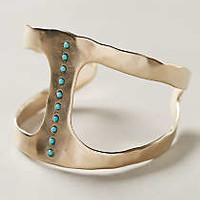 Mineral-Stack Cuff by Pascale Monvoisin