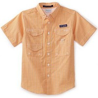Columbia Boys 8-20 Super Bonehead Short Sleeve Shirt