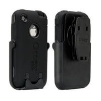 OtterBox Defender Case for iPhone 3G/3GS - 1 Pack - Case - Bulk Packaging - Black