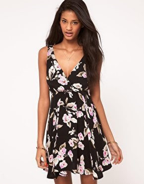 Motel | Motel Dress With Wrap Detail at ASOS