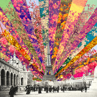Vintage Paris Art Print by Bianca Green | Society6