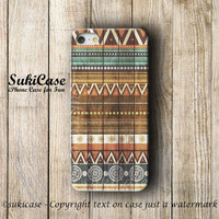 AZTEC IPHONE 5S CASE Wood Tribal Native Wooden Aztec Pattern On Wood iPhone Case iPhone 5 Case iPhone 4 Case iPhone 5c iPhone 4s Cover