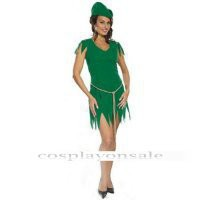 Euro-American Costumes Adult Sexy Peter Pan Costume cosplay costume for sale [TWL111015065] - $74.00