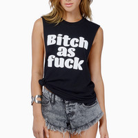 Married to the Mob Bitch As Fuck Muscle Tee $42