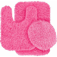 Walmart: Jazz Shaggy Nylon 3-Piece Washable Bathroom Rug Set
