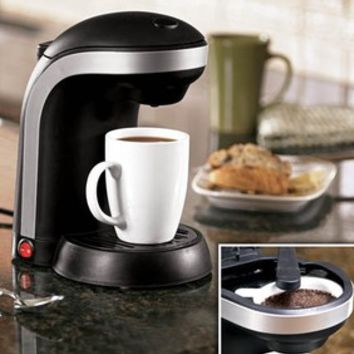 Single-Serve Coffee Maker @ Fresh Finds