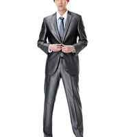 Lapel Single Breasted One Button Mens Suits