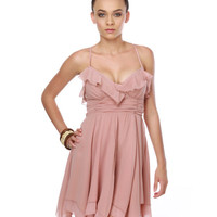 Ophelia's Flowers Blush Pink Dress