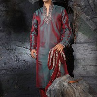 Decent Embroidered Kurta  - Kurta  Pyjama - Men