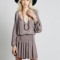 Free People Womens Chrysanthemum Dress - Washed