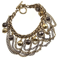 "30% off use promo code ""wanelo"" at checkout. Ball and Chains Bracelet"
