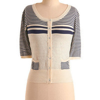 Nautically Yours Cardigan | Mod Retro Vintage Sweaters | ModCloth.com