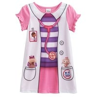 Disney Doc McStuffins Lab Coat Nightgown - Toddler