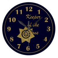 Keeper of the Cons Wall Clock