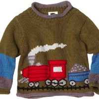 Mulberribush Boys 2-7 Train Sweater