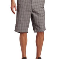 Marc Ecko Cut & Sew Men's Plaid Connection Short
