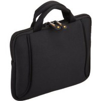 AmazonBasics Netbook Bag with Handle, Fits 7- to 10-Inch Netbooks, iPad, HP Touchpad (Black)