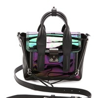 3.1 Phillip Lim Holographic Pashli Mini Satchel